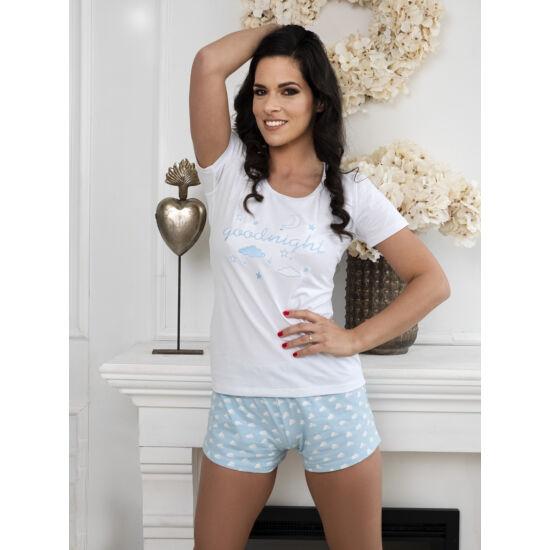 Felhőcskés rövid pizsama