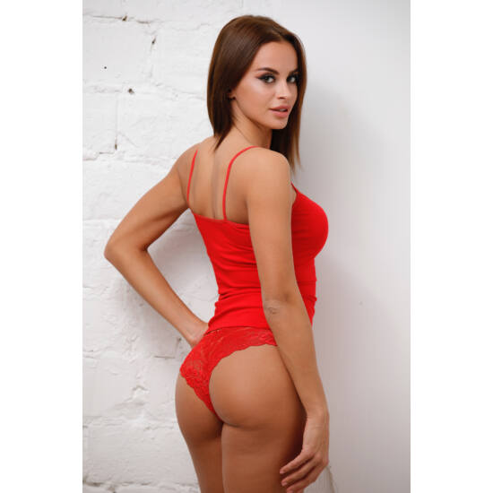 Gina féltanga piros