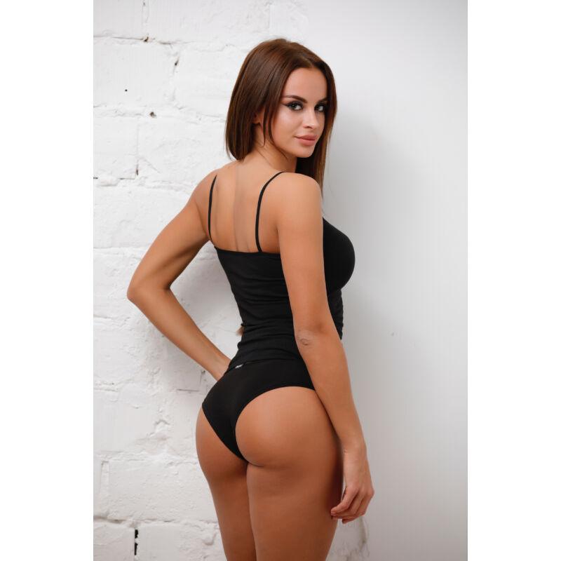 Spagetti trikó fekete
